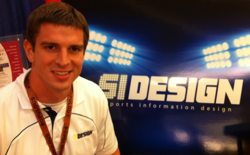 Kyle Robarts, owner of Sports Information Design