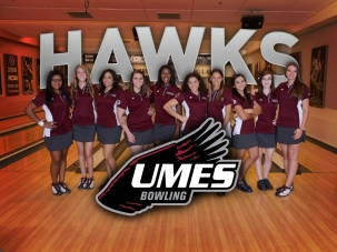 UMES Bowling Schedule Card (Front)