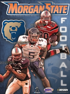 Morgan State Football Cover Design