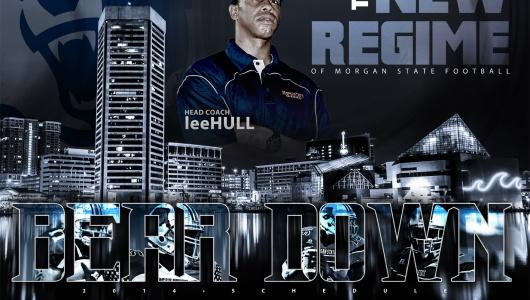 2014 Morgan State Football Poster - SIDesign