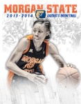 SIDesign created the 2013-14 Women's Basketball Media Guide Cover